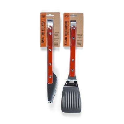 Stainless Steel Tong and Spatula Grill Set (2-Piece)
