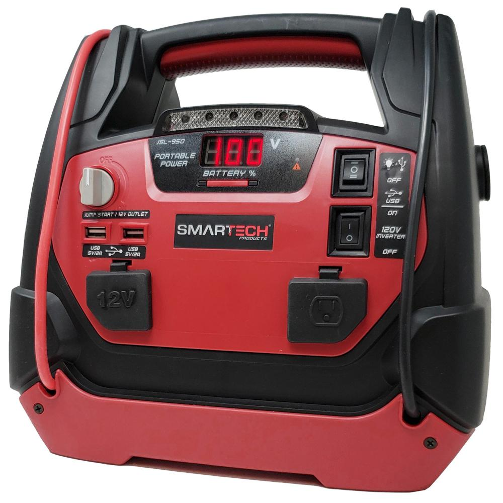 Smartech Products JSL-950 Power Station with Jump Starter and Air Compressor