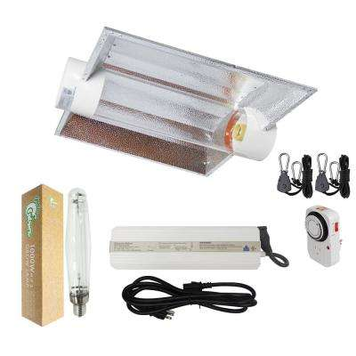 1000-Watt HPS Grow Light System with 6 in. Cool Tube XL Wing Hood Reflector