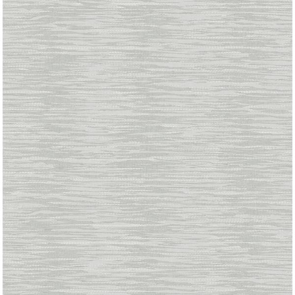 A-Street 8 in. x 10 in. Morrum Grey Abstract Texture Wallpaper