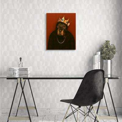 "20 in. x 16 in. Pets Rock ""Big Doggie"" Graphic Art on Wrapped Canvas Wall Art"