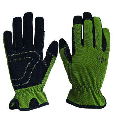 Planter Men's Large Green Synthetic Leather Glove (2-Pack)