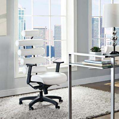 Pillow Office Chair in White