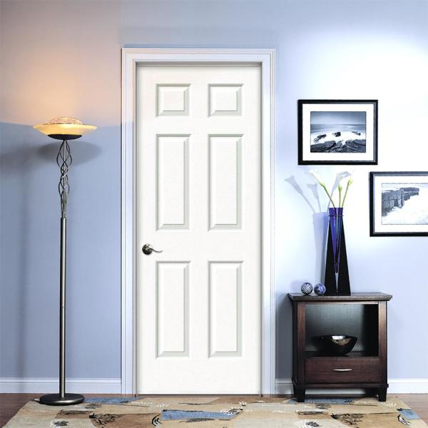 Jeld Wen 26 In X 80 In Colonist Primed Right Hand Textured Molded Composite Mdf Single Prehung Interior Door Thdjw136500896 The Home Depot