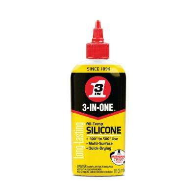 3-IN-ONE 4 oz  All Temp Silicone Drip Oil-120008 - The Home