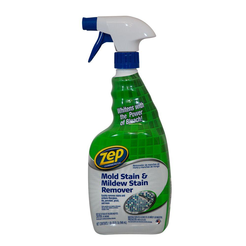 Zep 32 Oz Mold Stain And Mildew Stain Remover Case Of 4
