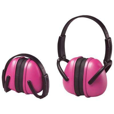 239 Folding Earmuff NRR 23dB in Pink