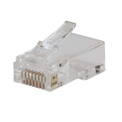 Pass-Thru Modular Data Plug CAT5E (10-Pack)