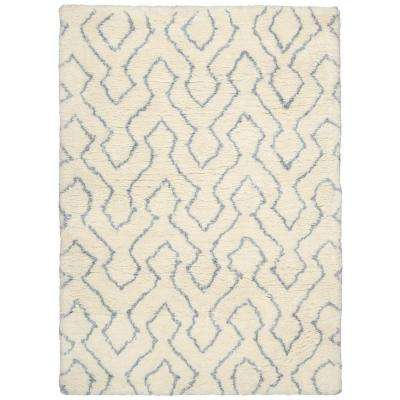 Galway Ivory/Blue 7 ft. 6 in. x 9 ft. 6 in. Area Rug