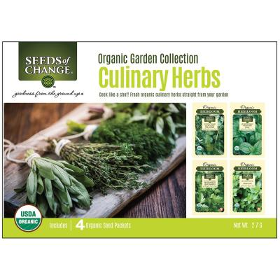 Organic Culinary Herb Collection (4-Pack)