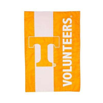 1 ft. x 1-1/2 ft.  University of Tennessee Embellished Garden Flag