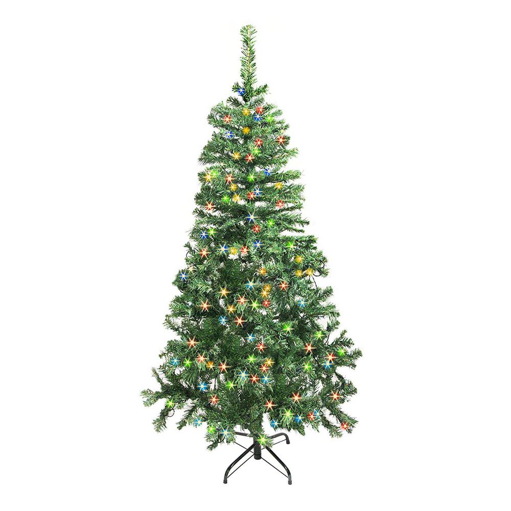 Artificial Christmas Trees: National Tree Company 6 Ft. Canadian Grande Fir Artificial