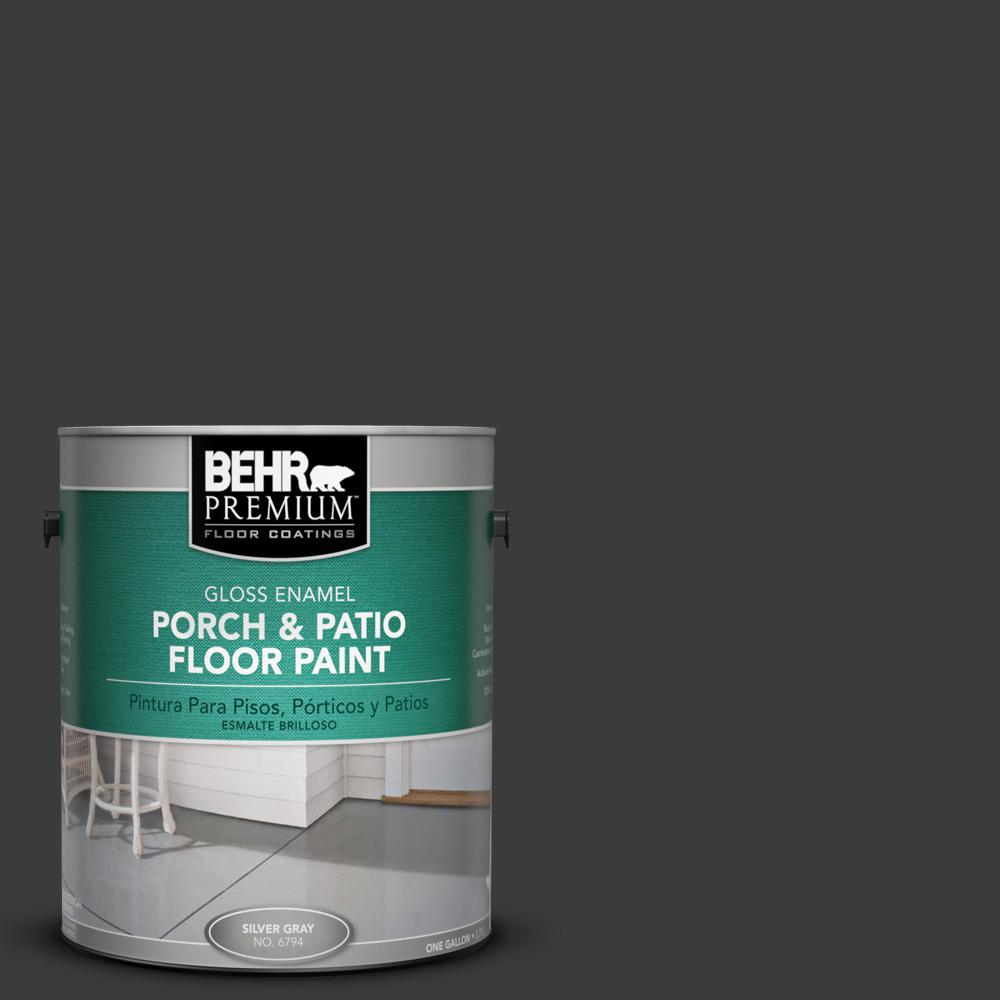 1 gal. #750F-7 Deep Space Gloss Porch and Patio Floor Paint