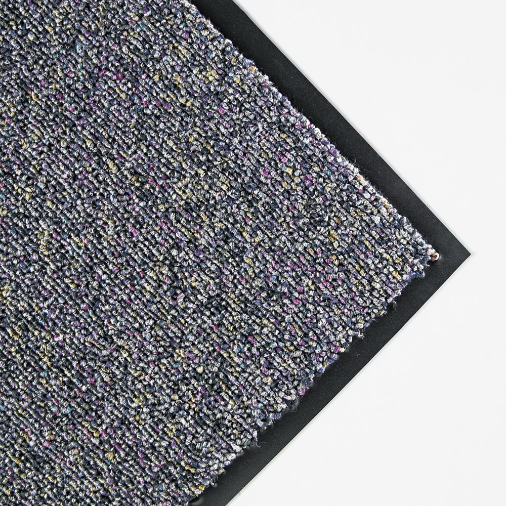 Classic Berber Gray 36 in. x 60 in. Nylon/Olefin Wiper Commercial Floor Mat