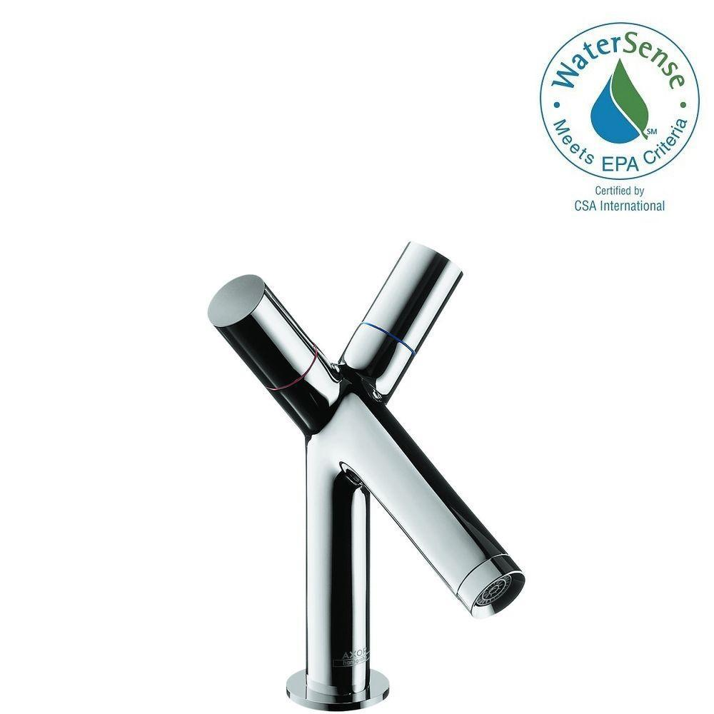 Hansgrohe Axor Starck 2-Handle Claw Foot Tub Faucet in Chrome