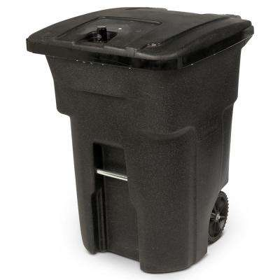 96-Gal. Black Bear-Tight Wheeled Trash Can