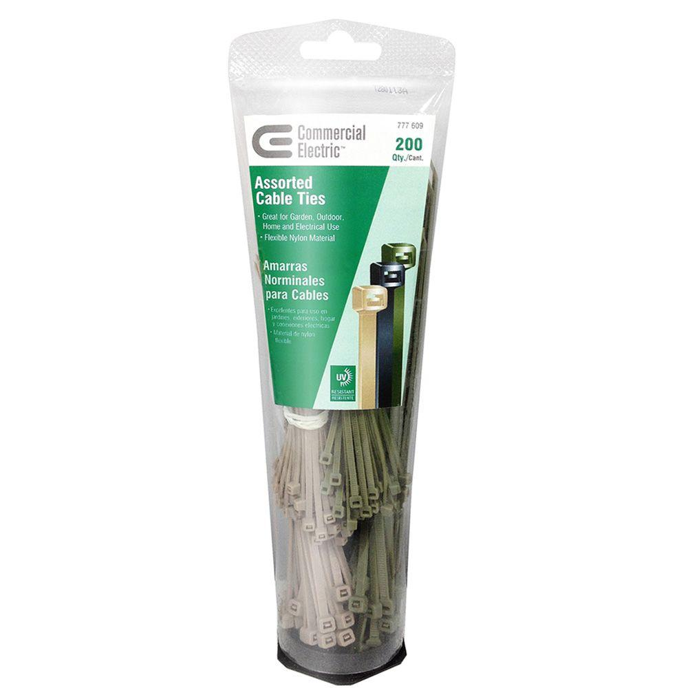 8 in. Garden Cable Tie Tube - Camouflage (200-Pack)