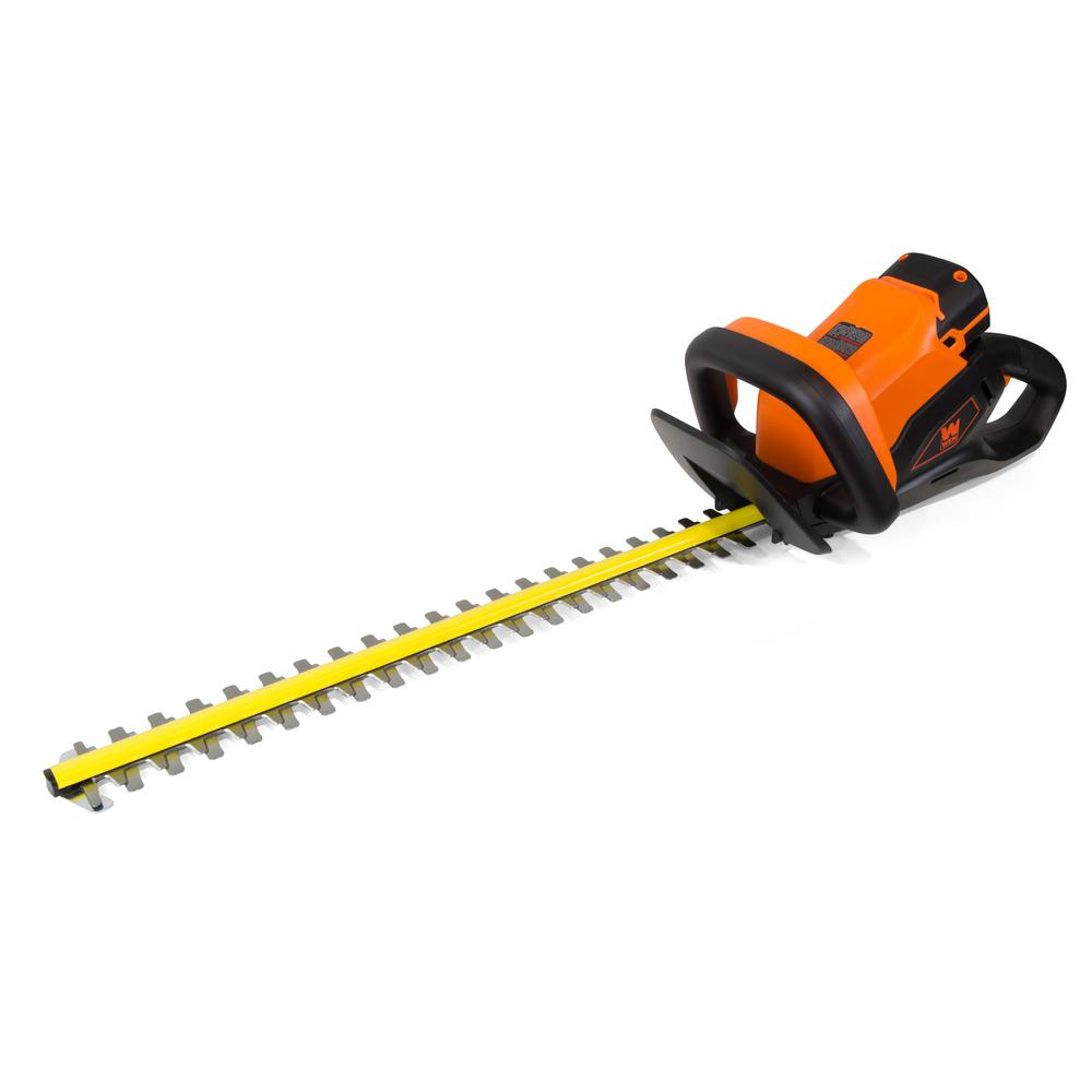 """WEN 40 Volts MAX Lithium-Ion 24 """" Cordless Hedge Trimmer (Tool-Only)"""