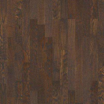 Take Home Sample - Kolby Meadows Driftwood Solid Hardwood Flooring - 4 in. x 8 in.