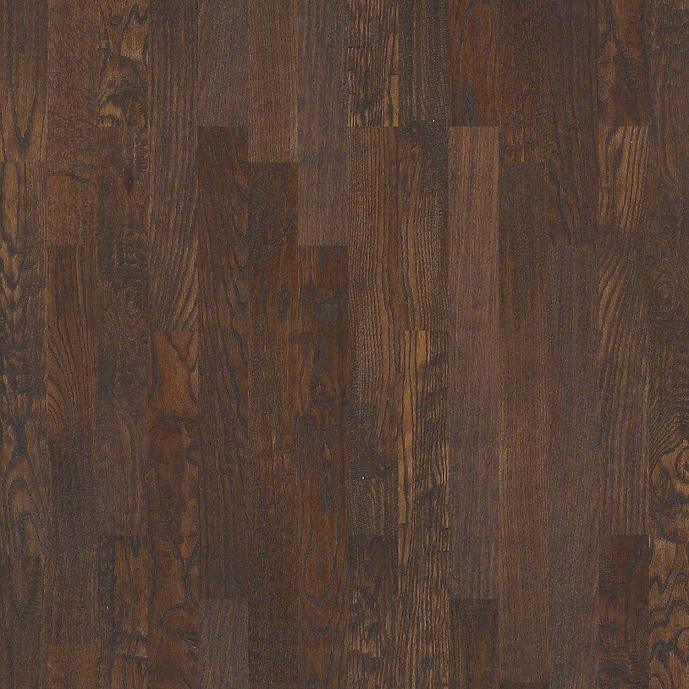 Take Home Sample - Kolby Meadows Driftwood Solid Hardwood Flooring - 4 in. x 8 in.