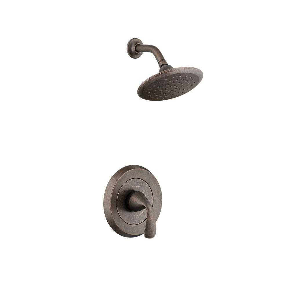 Fluent 1-Handle Shower Only Faucet Trim Kit in Oil Rubbed Bronze