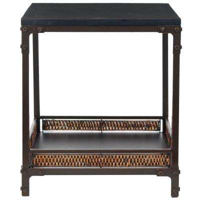 Dinesh Black End Table