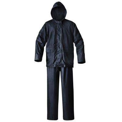 Mens Simplex Large Blue Rainsuit