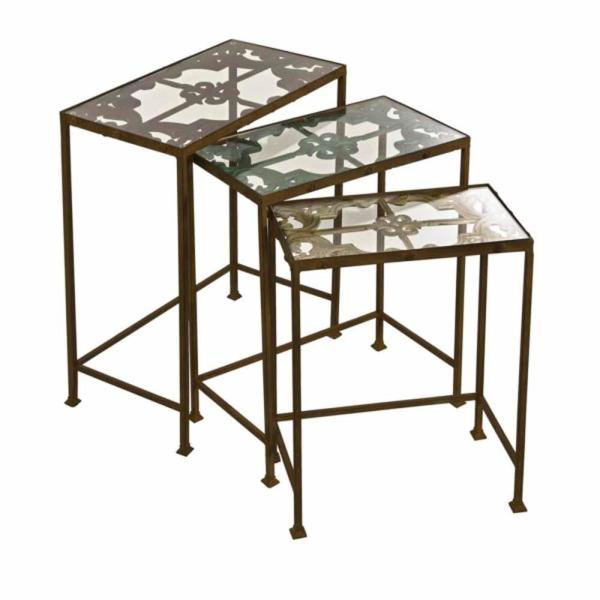 Torry Nested Brown Tables (Set of 3)