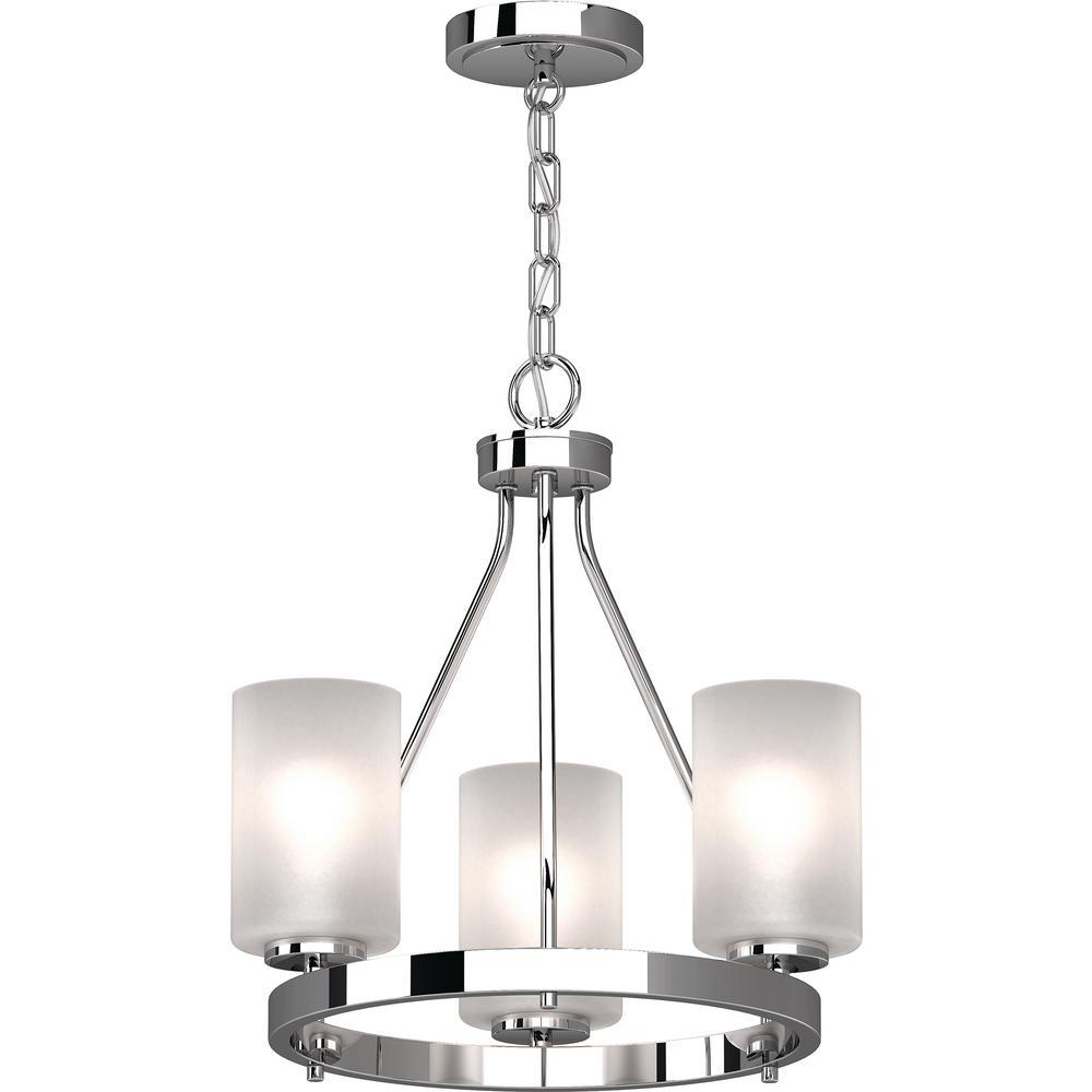 Warehouse Of Tiffany Veronica 1-Light Silver Crystal