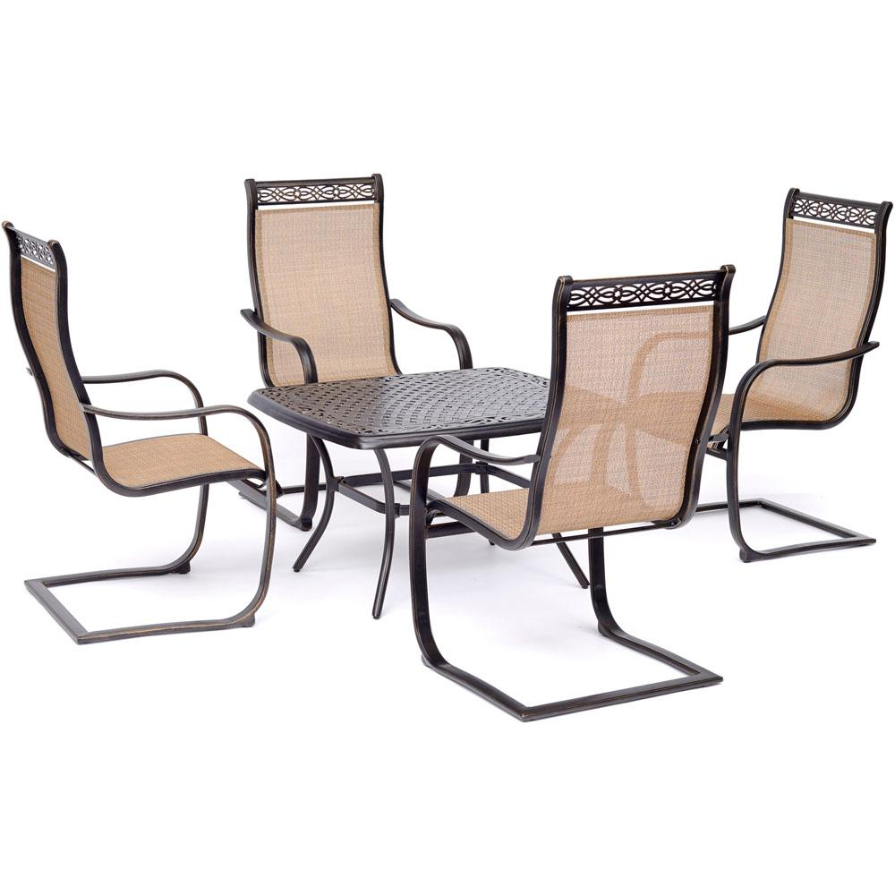 Envelor Hanover Tucson Bronze 5-Piece Aluminum Rectangular ...