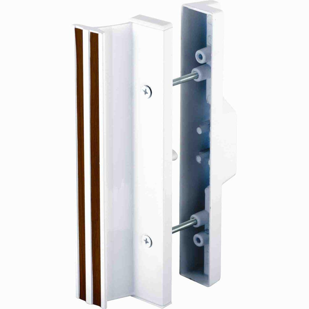 Prime line patio door mortise handle c 1225 the home depot for Sliding glass doors hardware