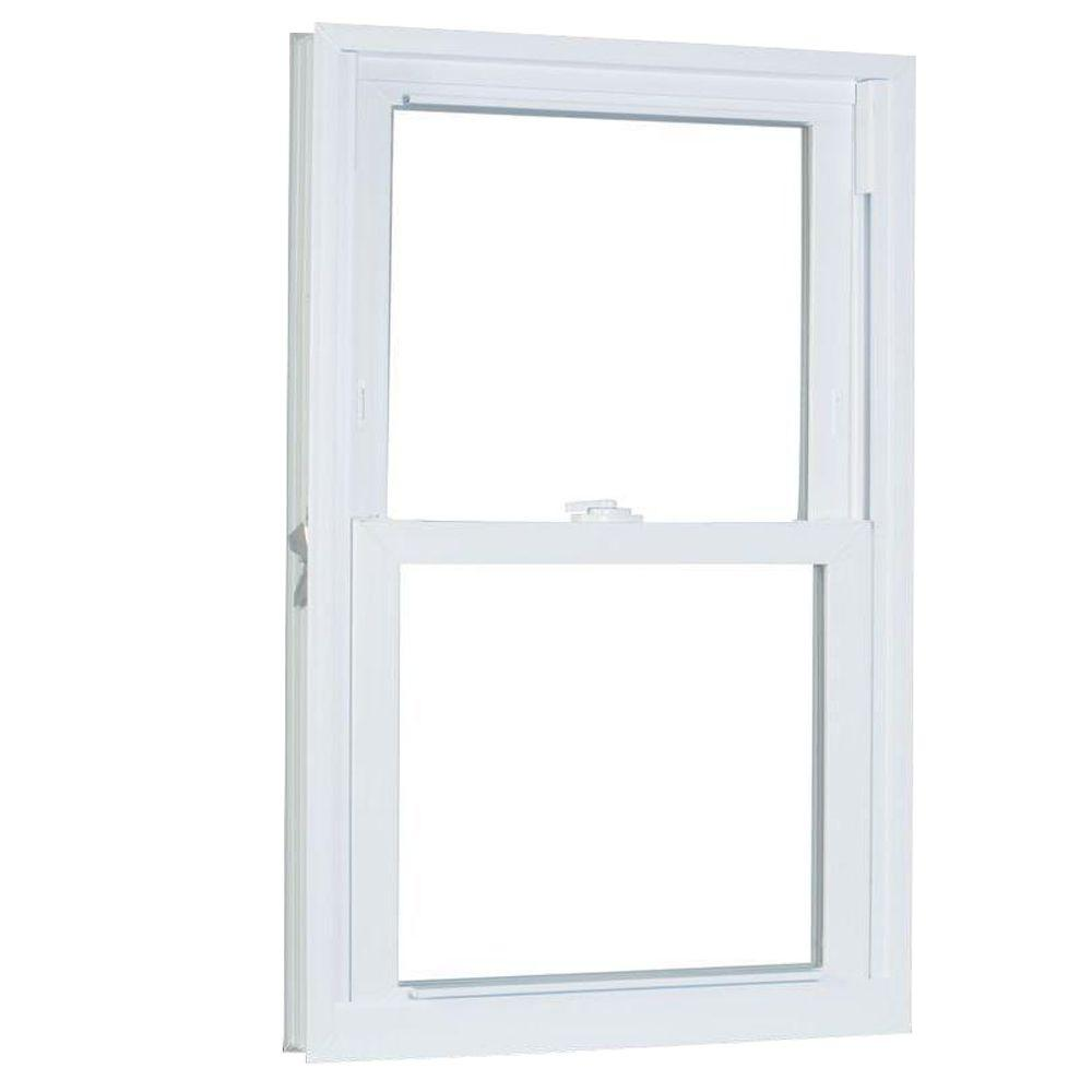 30.75 in. x 57.25 in. 70 Series Pro Double Hung White