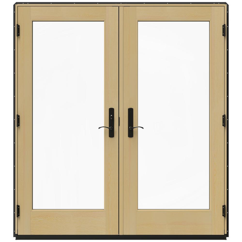 Patio Door Cladding : Jeld wen in w bronze clad wood right