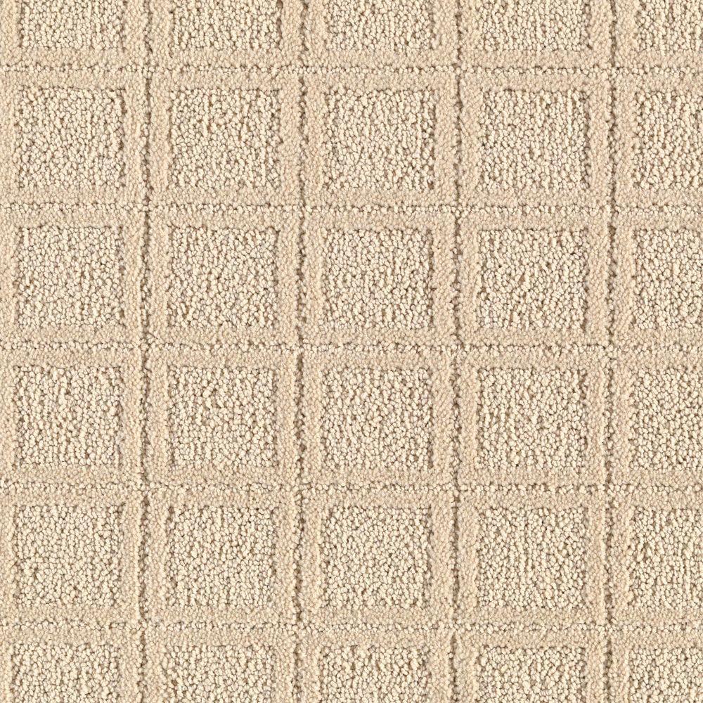 Platinum Plus Wondrous Color Coffee Cream 12 Ft Carpet