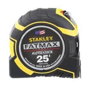 Stanley FatMax 25 ft. Auto Lock Tape Measure by Stanley