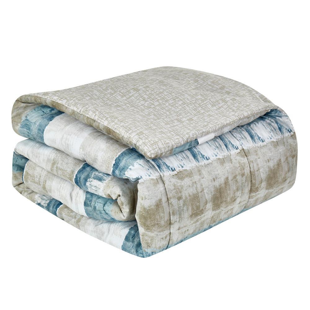 Raphael 8-Piece Steel Queen Bed in a Bag Set