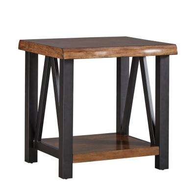 Barnard Brown Live Edge End Table