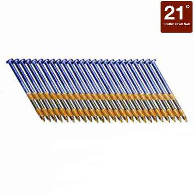 3-1/4 in. x 0.120-Gauge Plastic Stainless Steel Nails (1,000 per Box)