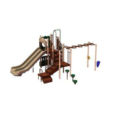 UPlay Today Maddie's Chase (Natural) Commercial Playset with Ground Spike