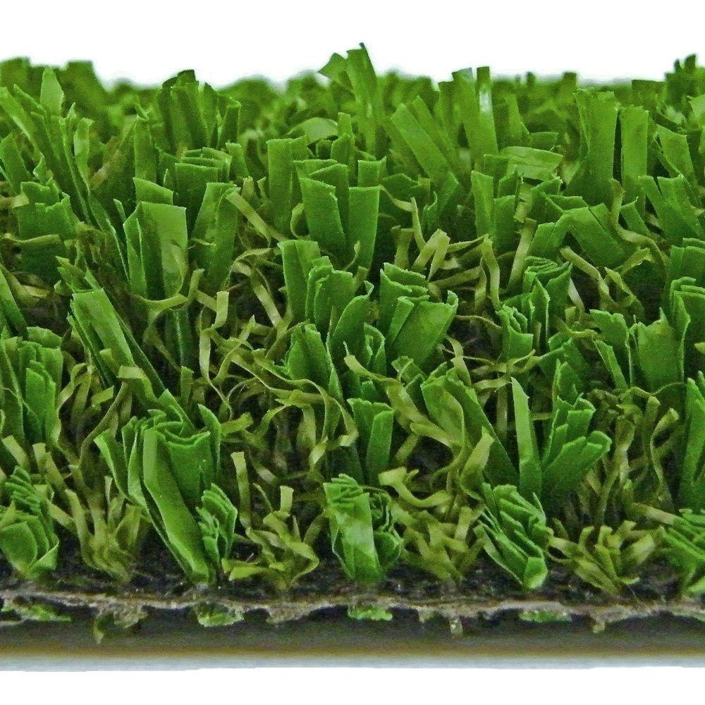 Rye Synthetic Lawn Grass Turf, Sold by 15 ft. W Rolls