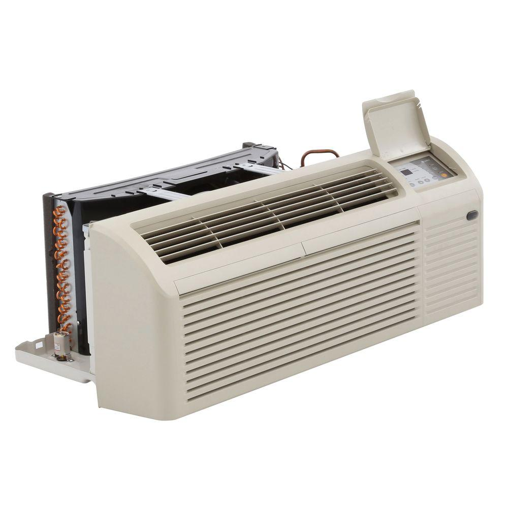 GREE Packaged Terminal Heat Pump Air Conditioner 15,000 BTU (1.25 Ton) + 5 kW Electrical Heater (9.8 EER) - 230V