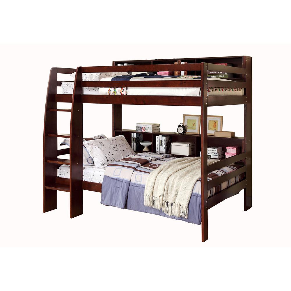 Camino Twin Bunk Bed in Dark Walnut