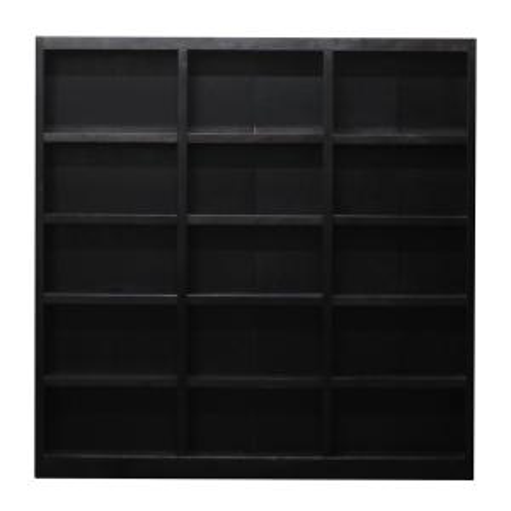 Concepts 15-Shelf Triple-Wide Wood Bookcase (Expresso)