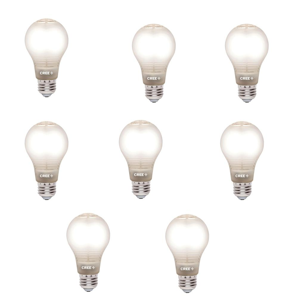 buy popular 6ada3 40298 Cree 60W Equivalent Soft White A19 Dimmable LED Light Bulb with 4Flow  Filament Design (8-Pack)