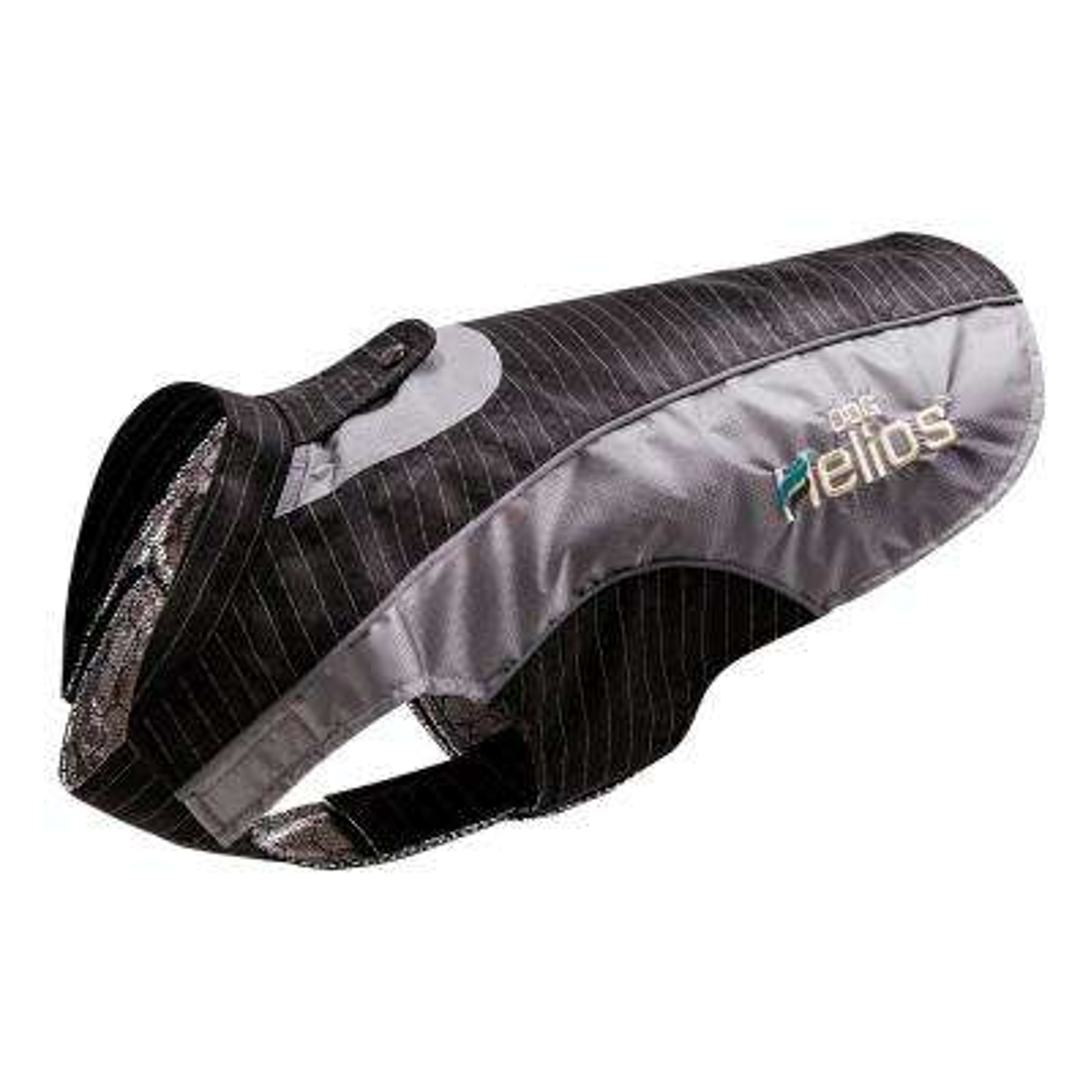Small Black Reflecta-Bolt Sporty Performance Waterproof Pet Dog Coat Jacket With Blackshark Technology