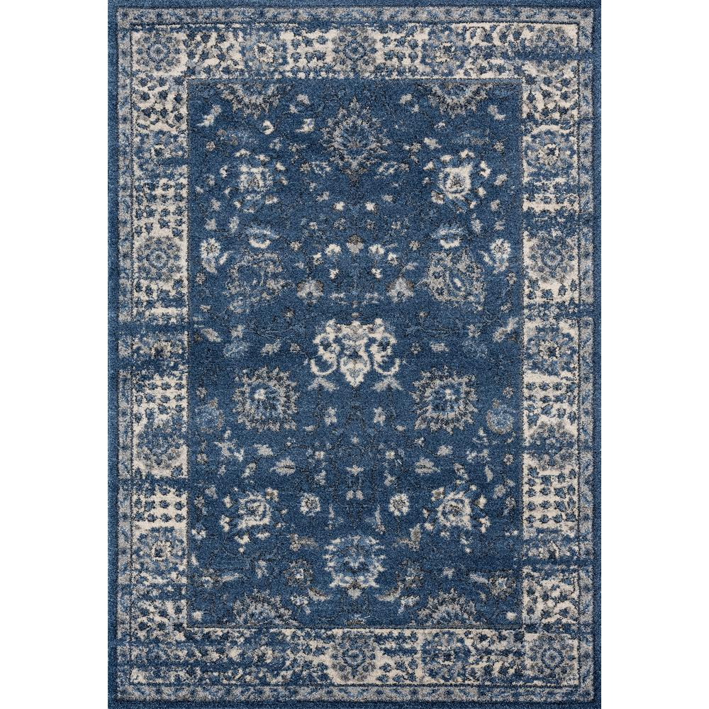 United Weavers Of America Serenity Azlyn Midnight Blue 5 Ft 3 In X