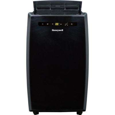 12,000 BTU, 115-Volt Portable Air Conditioner with Dehumidifier and Remote Control in Black