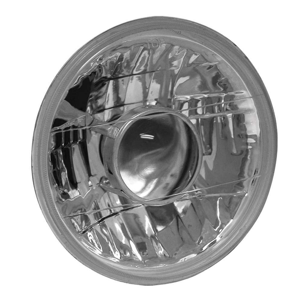 Universal Headlight Universal H4 7in Round Universal Headlight w/ Projector