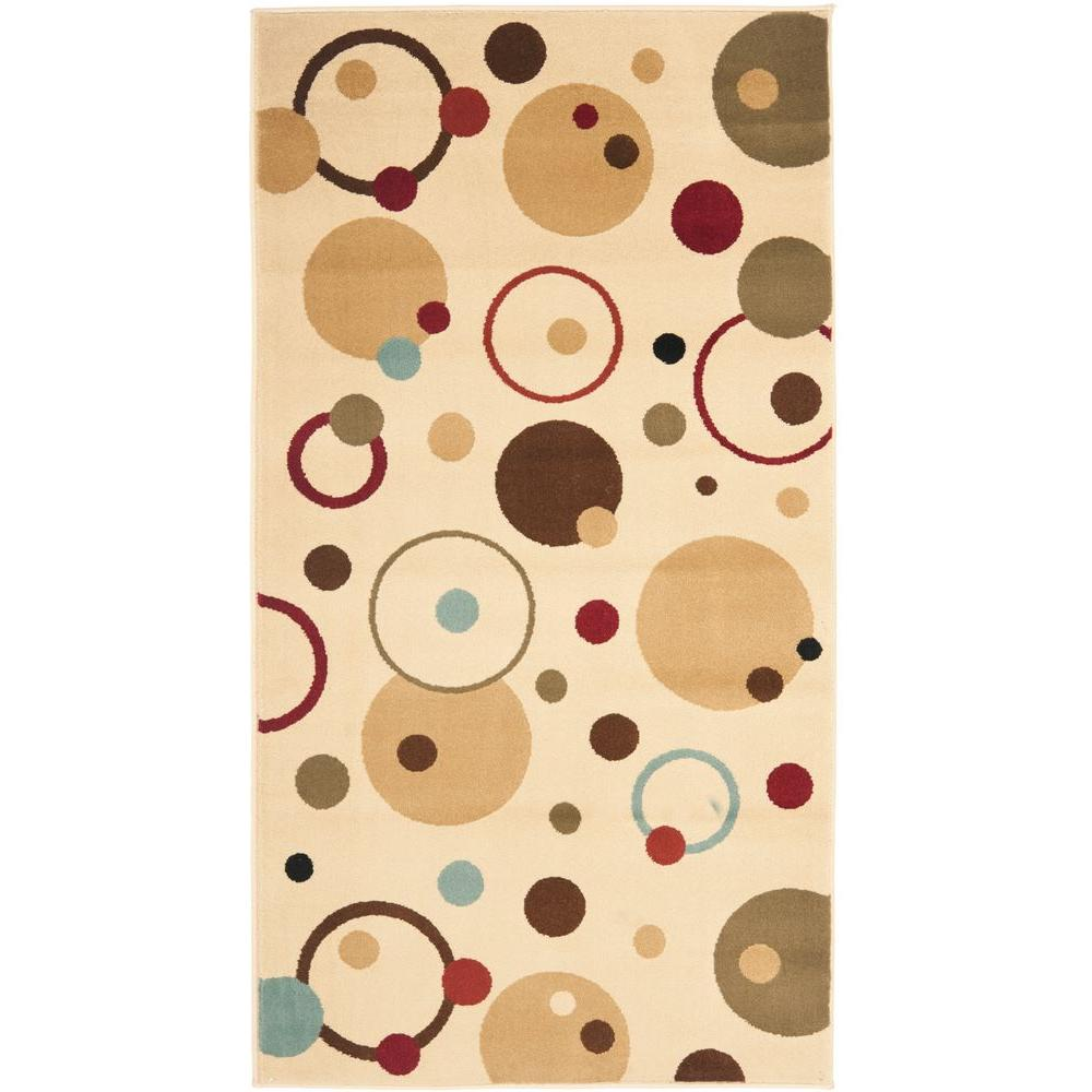 Safavieh Porcello Ivory/Multi 2 ft. x 3 ft. 7 in. Area Rug