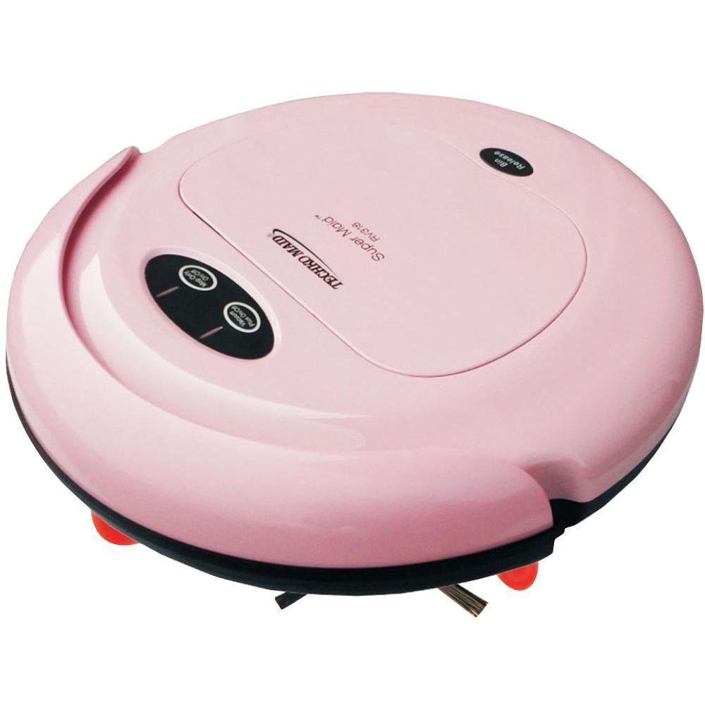 TECHKO Super Maid in Pink RV318 Super Maid Robotic Vacuum-DISCONTINUED